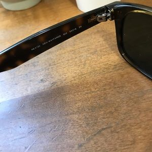 Ray-Ban Accessories - Authentic Tortoise Shell New Wayfarer Ray-bans